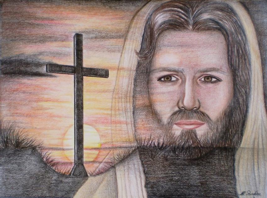 Jesus Christ by Ana-Maria